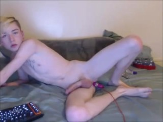 Daddy Fucks Hot Blond Boy on GayCamTube