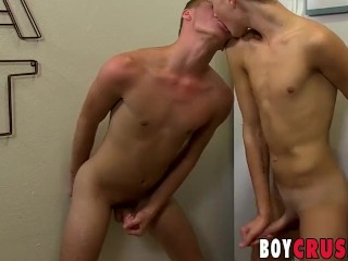 Horny big dick twinks stuffing their asses with dildos