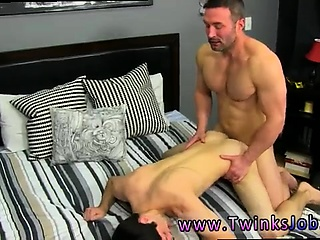 Free virgin anal on boys cries and  gay sex videos men Brock