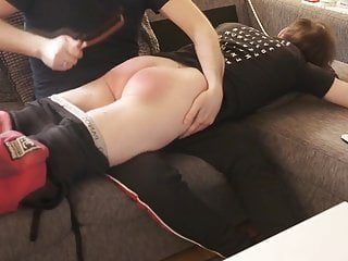 Amateur Boy gets first ever spanking by Disciplinarian Promo