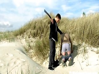 Beach Boy Get Spanked