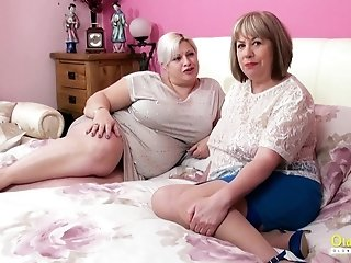 OldnannY Two Hot Matures Lesbian Sex Adventure